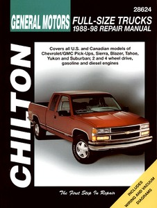 Livre : Chevrolet / GMC Full-size Trucks - gasoline and diesel engines (1988-1998) - Chilton Repair Manual