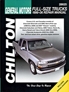 Livre : Chevrolet / GMC Full-size Trucks - gasoline engines (1999-2006) - Chilton Repair Manual