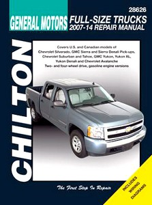 Livre : Chevrolet / GMC Full Size Trucks - gasoline engines (2007-2014) - Chilton Repair Manual