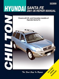 Livre : Hyundai Santa Fe (2001-2006) (USA) - Chilton Repair Manual