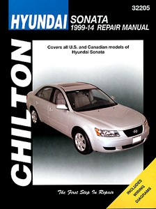 Boek: Hyundai Sonata (1999-2014) (USA) - Chilton Repair Manual