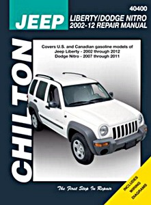 Livre : Jeep Cherokee (Liberty) / Dodge Nitro (2002-2012) - Chilton Repair Manual