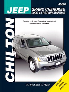 Livre : Jeep Grand Cherokee (2005-2014) - Chilton Repair Manual