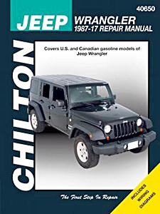 Livre : Jeep Wrangler (1987-2017) - Chilton Repair Manual