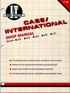 Boek: Case IH 235, 235H, 245, 255, 265, 275 + 4WD - Tractor Shop Manual