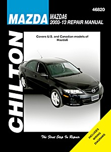Boek: Mazda 6 (2003-2013) (USA) - Chilton Repair Manual