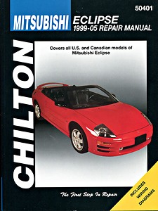 Boek: Mitsubishi Eclipse (1999-2005) (USA) - Chilton Repair Manual