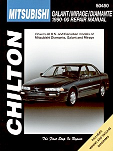 Boek: Mitsubishi Galant, Mirage, Diamante (1990-2000) (USA) - Chilton Repair Manual
