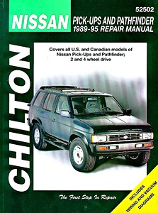 Livre : Nissan Pick-Ups and Pathfinder (1989-1995) (USA) - Chilton Repair Manual