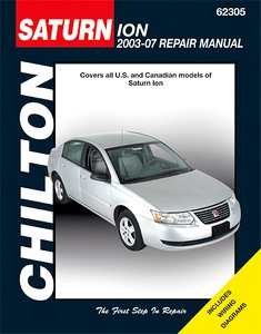 Livre : Saturn Ion - All models (2003-2007) (USA) - Chilton Repair Manual