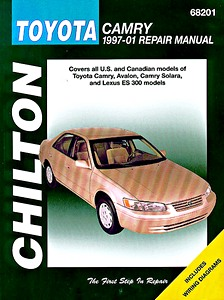 Boek: Toyota Camry, Avalon, Camry Solara / Lexus ES 300 (1997-2001) (USA) - Chilton Repair Manual