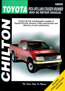 Livre : Toyota Pick-Ups, Land Cruiser, 4Runner (1989-1996) (USA) - Chilton Repair Manual