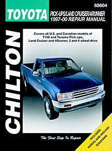 Livre : Toyota Pick-Ups, Land Cruiser, 4Runner (1997-2000) (USA) - Chilton Repair Manual