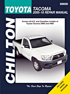 Livre : Toyota Tacoma (2005-2018) (USA) - Chilton Repair Manual