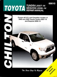 Livre : Toyota Tundra (2007-2014) and Sequoia (2008-2014) (USA) - Chilton Repair Manual