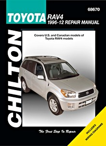 Livre : Toyota RAV4 (1996-2012) (USA) - Chilton Repair Manual