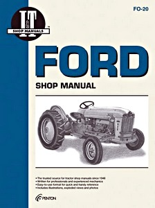 Boek: Ford 501, 600, 601, 700, 701, 800, 801, 900, 901, 1801, 2000 (4-Cyl.), 4000 (4-Cyl.) - Tractor Shop Manual