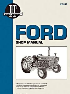 Boek: Ford Series 2000, 3000, 4000 (3-Cylinder Models, prior to 1975) - Tractor Shop Manual