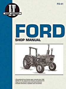 Boek: Ford 2600, 3600, 4100, 4600 / 2310, 2610, 3610, 4110, 4610 - Tractor Shop Manual