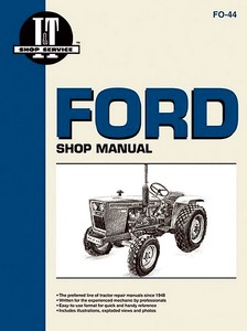 Boek: Ford 1100, 1200, 1300, 1500, 1700, 1900 / 1110, 1210, 1310, 1510, 1710, 1910, 2110 - Tractor Shop Manual