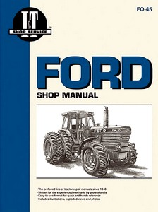 Boek: Ford TW-5, TW-15, TW-25, TW-35 + 4WD - Tractor Shop Manual