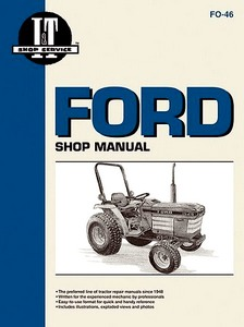 Boek: Ford 1120, 1220, 1320, 1520, 1720, 1920, 2120 Compact Series - Tractor Shop Manual