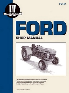 Boek: Ford 3230, 3430, 3930, 4630, 4830 - Tractor Shop Manual