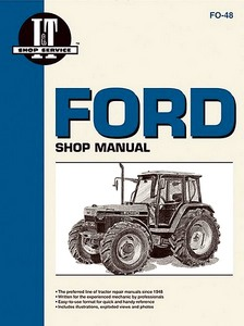 Boek: Ford 5640, 6640, 7740, 7840, 8240, 8340 - Tractor Shop Manual
