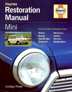 Boek: Mini (1959-2000) - Haynes Restoration Manual