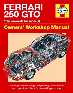 Boek: Ferrari 250 GTO Manual - An insight into owning, racing and maintaining Ferrari's iconic sports racer