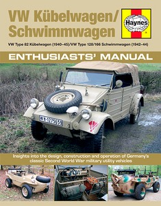 Boek: VW Kübelwagen / Schwimmwagen Manual - Insights into the design, construction and operation (Haynes Military Manual)