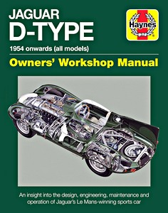 Boek : Jaguar D-Type Manual (1954 onwards) - An insight into the design, engineering, maintenance and operation