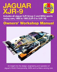 Boek : Jaguar XJR-9 Manual (1985 to 1992) - An insight into the design, engineering and operation