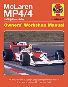 Boek: McLaren MP4/4 Manual (1988) - An insight into the design, engineering and operation