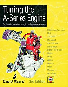 Boek: Tuning the A-Series Engine (3rd Edition) - The definitive manual on tuning for performance or economy