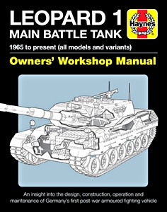 Boek: Leopard 1 Main Battle Tank Manual - all models and variant (1965 to present) (Haynes Military Manual)
