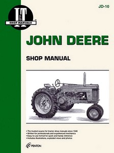 Boek: John Deere Series 50, 60, 70 (Non Diesel) (1952-1956) - Tractor Shop Manual