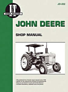 Boek: John Deere 2510 / 2520 / 2630 / 1040, 1140, 2040, 2140, 2240, 2440, 2640, 4040, 4240, 4440, 4640, 4840 (1965-1982) - Tractor Shop Manual