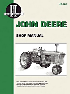 Boek: John Deere 3010, 4010, 5010 / 3020, 4000, 4020, 4320, 4520, 4620, 5020 / 6030 (1960-1977) - Tractor Shop Manual