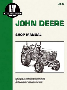 Boek: John Deere 850, 950, 1050 (1978-1989) - Tractor Shop Manual