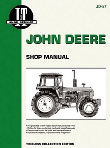 Boek: John Deere 4050, 4250, 4450, 4650, 4850 + 4WD (1982-1986) - Tractor Shop Manual