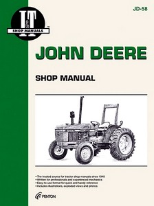Boek: John Deere 2150, 2350, 2550 / 2255 / 2155, 2355, 2555 (1982-1992) - Tractor Shop Manual