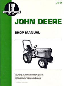 Boek: John Deere 655, 755, 756, 855, 856, 955 (1986-1998) - Tractor Shop Manual