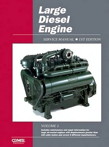 Boek: Large Diesel Engine Service Manual - Clymer ProSeries Service and Repair Manual