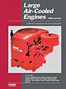Boek : Large Air-cooled Engine Service Manual, Volume 1 (1988 and prior) - Clymer ProSeries Service and Repair Manual