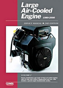 Boek : Large Air-cooled Engine Service Manual, Volume 2 (1989-2000) - Clymer ProSeries Service and Repair Manual