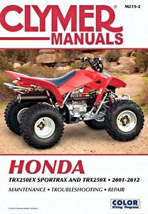 vtt quads et trikes revues techniques entretien et r paration rh tmbbooks com Honda TRX 300 Parts Honda FourTrax 300 Schematic