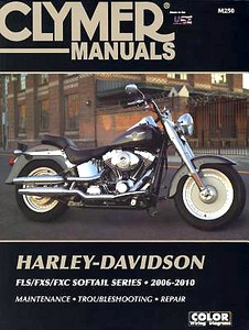 Livre : Harley-Davidson FLS / FXS / FXC Softail Models (2006-2010) - Clymer Motorcycle Service and Repair Manual
