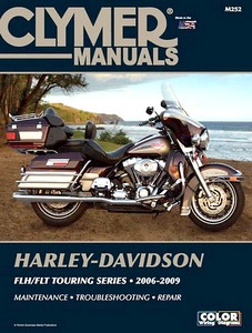 Livre : Harley-Davidson FLH / FLT Touring Series (2006-2009) - Clymer Motorcycle Service and Repair Manual