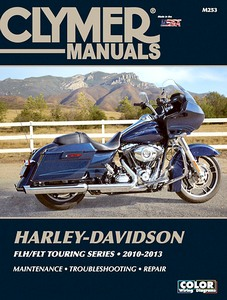 Livre : Harley-Davidson FLH / FLT Touring Series (2010-2013) - Clymer Motorcycle Service and Repair Manual